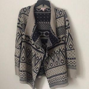 Patterned winter sweater
